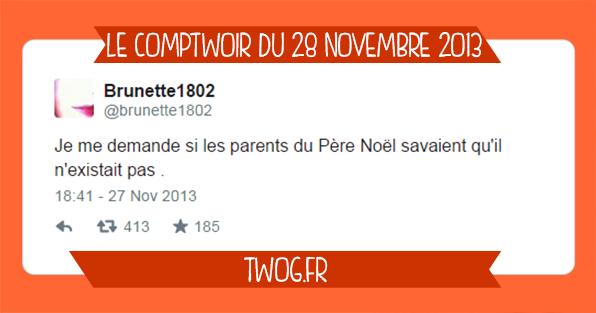 Meilleurs tweets novembre 2013