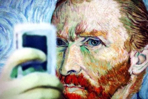 Auto-selfie de Van Gogh