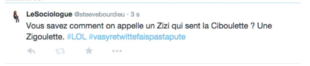 Tweet du Sociologue