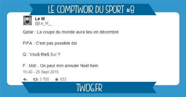 sport quatar fifa meilleur tweets sportif foot rugby