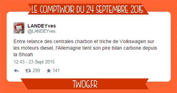 volkswagen sélection meilleurs tweets humour plus drôle twitter
