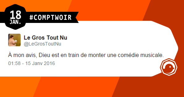 Comptwoir du 18 janvier humour divertissement twitter