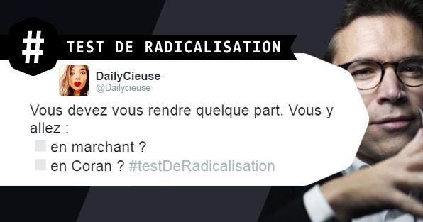 Test de radicalisation