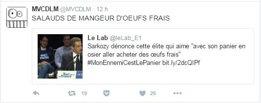 SALAUDS DE MANGEUR D'OEUFS FRAIS
