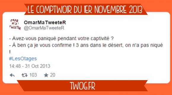 Image de couverture de l'article : Le Comptwoir du 1er novembre 2013