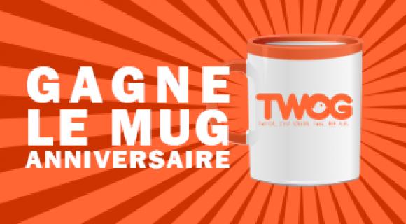 Image de couverture de l'article : Concours anniversaire | Qui a gagné le mug Twog ?