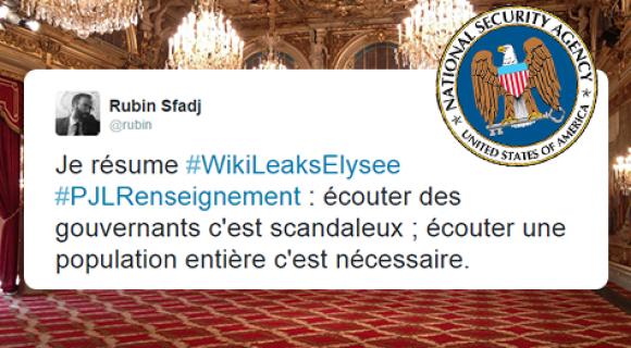 Image de couverture de l'article : Sélection Spéciale   #WikiLeaksElysee