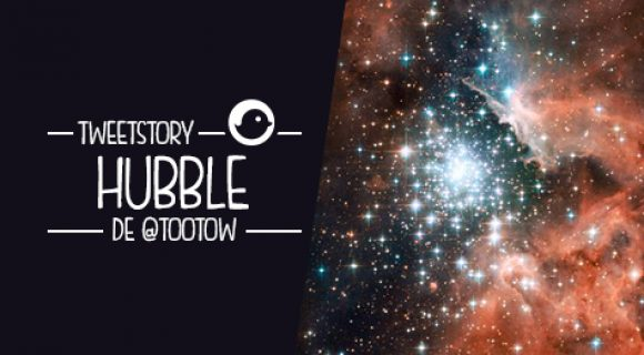 Image de couverture de l'article : Tweetstory : Hubble, un voyage dans l'infiniment grand