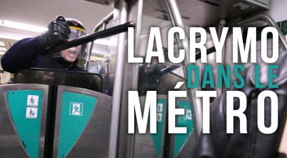 Image de couverture de l'article : Tweetstory | Lacrymo dans le métro