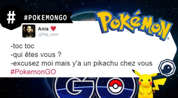 Image de couverture de l'article : Les meilleurs tweets de #PokemonGo