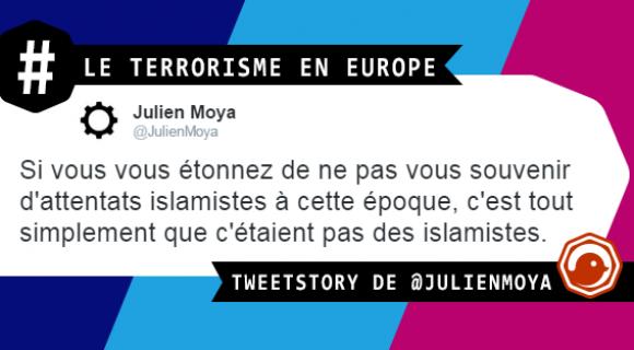 Image de couverture de l'article : Le terrorisme en Europe et en 17 tweets