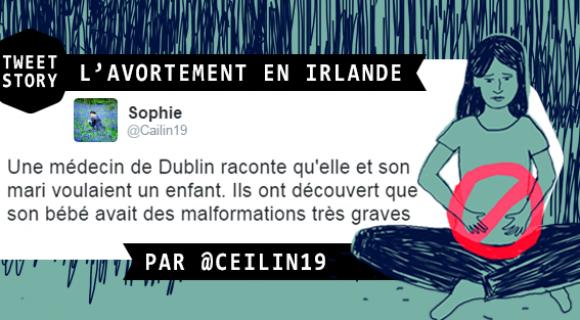 Image de couverture de l'article : Tweetstory : L'avortement en Irlande