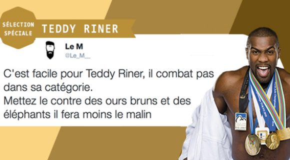 Image de couverture de l'article : Jeux Olympiques : Twitter commente les exploits de Teddy Riner