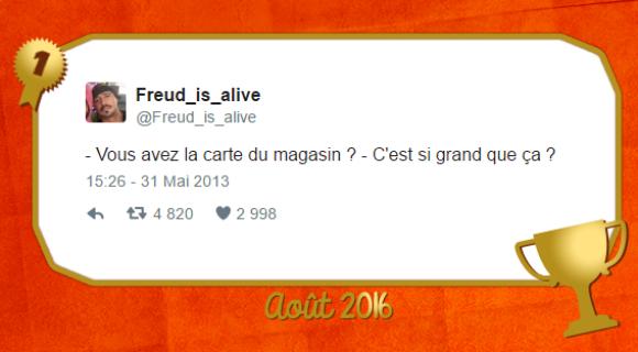 Image de couverture de l'article : Le Twitto du mois – @freud_is_alive