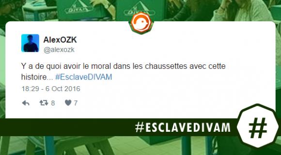 Image de couverture de l'article : #EsclaveDIVAM ou quand une société de chaussettes est accusée d'exploiter des étudiants