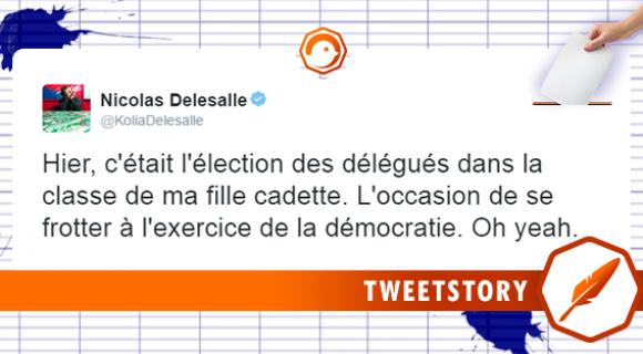 Image de couverture de l'article : Tweetstory : l'élection des délégués