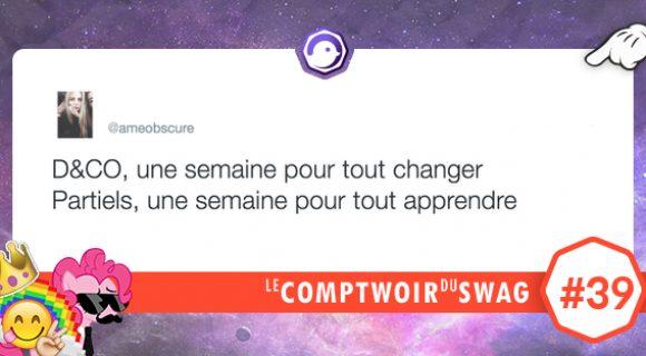 Image de couverture de l'article : Le Comptwoir du Swag #39