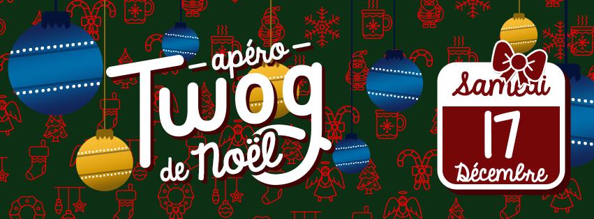 Apéro Twog le 17 décembre 2016