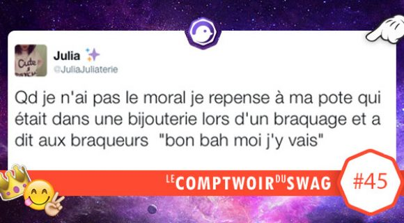 Image de couverture de l'article : Le Comptwoir du Swag #45