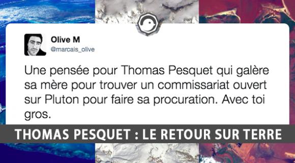 Image de couverture de l'article : Thomas Pesquet : retour sur 6 mois dans l'espace et sur Twitter