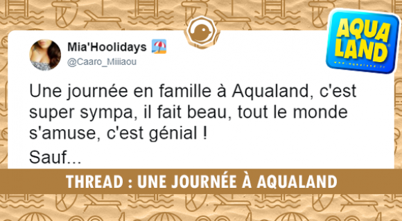 Image de couverture de l'article : THREAD : Une journée à Aqualand
