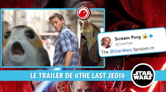 Image de couverture de l'article : Le trailer de The Last Jedi, le dernier Star Wars, est sorti !