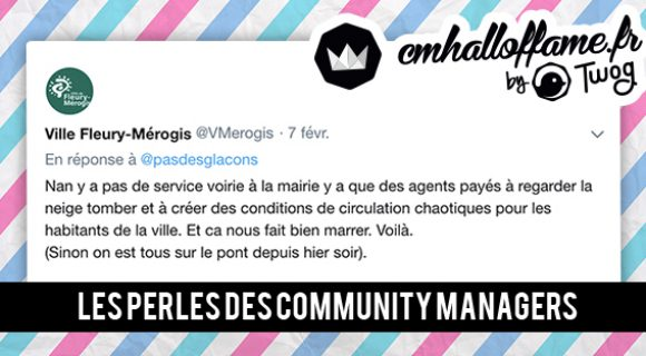 Image de couverture de l'article : CM Hall of Fame : Les perles des community managers #9