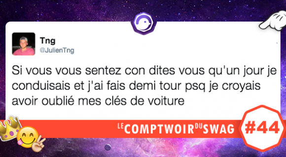 Image de couverture de l'article : Le Comptwoir du Swag #44