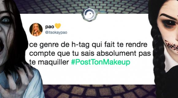 Image de couverture de l'article : #PostTonMakeUp : le hashtag des plus beaux maquillages
