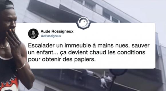 Image de couverture de l'article : Mamoudou Gassama : le nouveau héros de la France