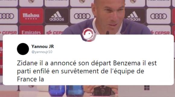 Image de couverture de l'article : Zidane quitte le Real Madrid !
