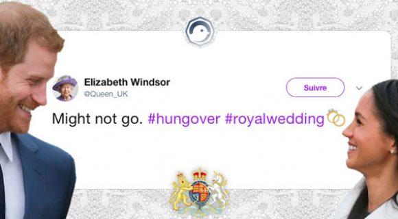 Image de couverture de l'article : Mariage royal de Meghan Markle et du prince Harry : les meilleurs tweets