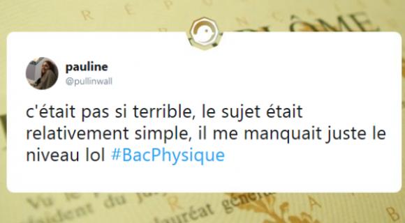 Image de couverture de l'article : Bac de Physique-Chimie 2018 : les meilleurs tweets