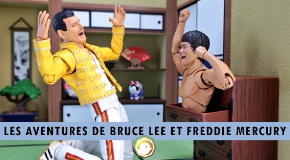 Image de couverture de l'article : Les aventures de Bruce Lee et Freddie Mercury