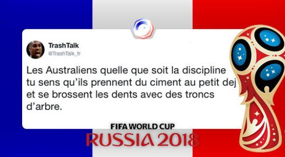 Image de couverture de l'article : France-Australie : les meilleurs tweets
