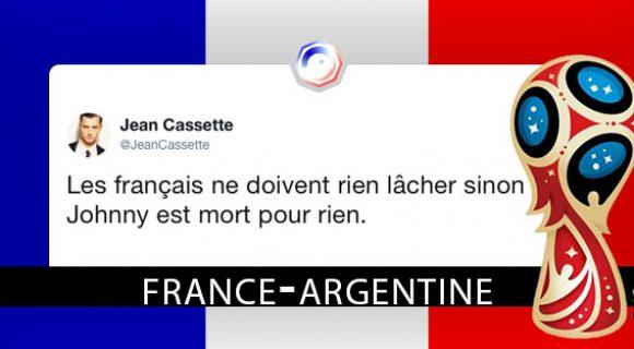 Image de couverture de l'article : France-Argentine : les meilleurs tweets
