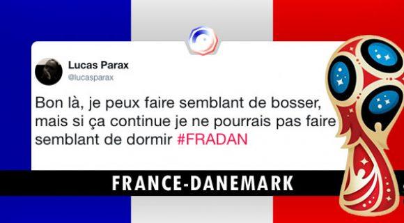 Image de couverture de l'article : France-Danemark : les meilleurs tweets