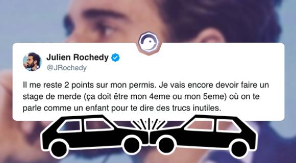 Image de couverture de l'article : Julien Rochedy, le code de la route et Twitter