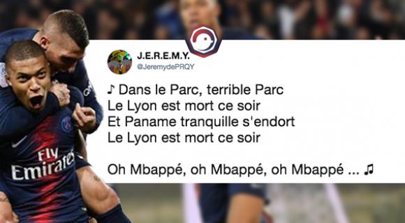 Image de couverture de l'article : PSG-OL : le show Mbappé