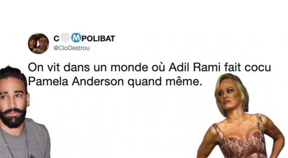 Image de couverture de l'article : Pamela Anderson quitte Adil Rami sur Instagram !