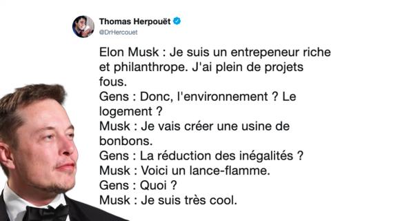 Image de couverture de l'article : Sélection spéciale Elon Musk : les meilleurs tweets