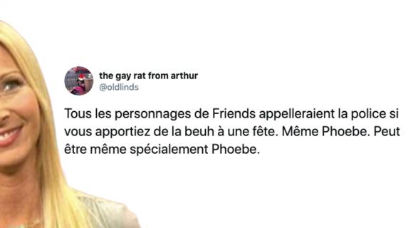 Image de couverture de l'article : Sélection spéciale Phoebe Buffay : les meilleurs tweets !