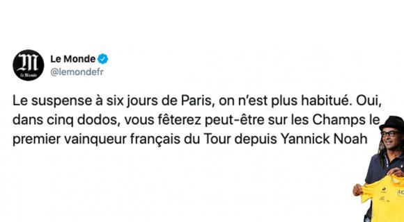 Image de couverture de l'article : Quand Yannick Noah gagnait le Tour de France