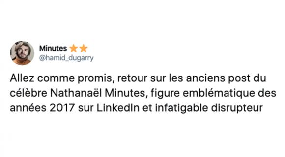 Image de couverture de l'article : Thread : Nathanaël Minutes, le boss de fin de Linkedin