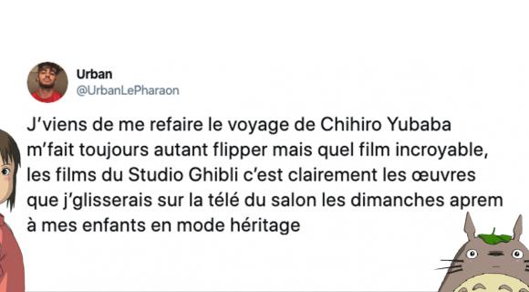 Image de couverture de l'article : Sélection spéciale Studio Ghibli : les meilleurs tweets !
