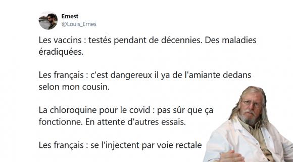 Image de couverture de l'article : Les 15 meilleurs tweets sur la chloroquine, le remède miracle ?