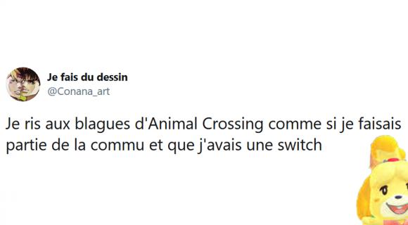 Image de couverture de l'article : Les 20 meilleurs tweets sur Animal Crossing, qui n'a pas encore le jeu ?