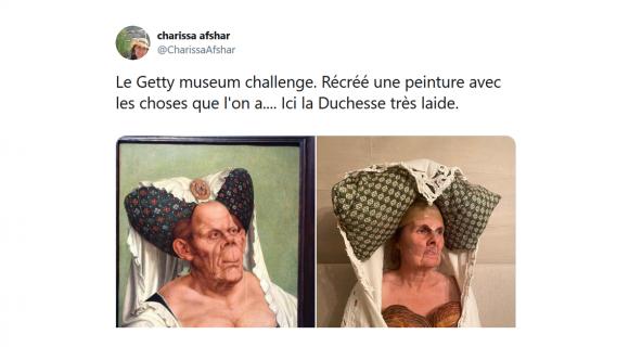 Image de couverture de l'article : Reproduire des peintures célèbres avec ce qu'on trouve chez soi : le #gettymuseumchallenge