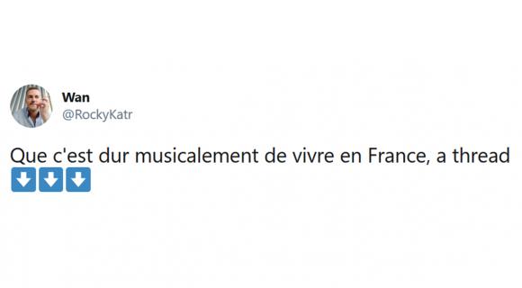 Image de couverture de l'article : Thread : La musique francophone comparée à la musique anglophone