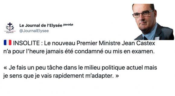 Image de couverture de l'article : Les 26 meilleurs tweets sur Jean Castex, nouveau Premier Ministre de la France